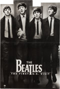Music Memorabilia:Memorabilia, The Beatles The First U.S. Visit Display With Limited Edition Litho (circa 2000s). . ...