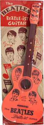 The Beatles Toy Guitar by Mastro (Beatle-Ist) (1964)