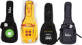 Music Memorabilia:Memorabilia, The Beatles Soft Guitar Cases (4).. ...