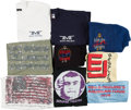 Music Memorabilia:Costumes, Bernie Taupin Personally Owned Collection of Shirts/Sweatshirts (21) (1974-1994). . ... (Total: 21 Items)