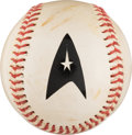 Movie/TV Memorabilia:Star Trek, Star Trek: Deep Space Nine Screen Used Baseball (1998). ....