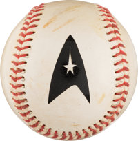 Star Trek: Deep Space Nine Screen Used Baseball (1998)