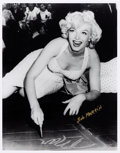 Movie/TV Memorabilia:Photos, Marilyn Monroe Black and White Photo From Original Negative HandSigned by Photographer.. ...