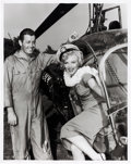 Movie/TV Memorabilia:Photos, Marilyn Monroe Black and White Photo Made From Original Negative (1952). . ...