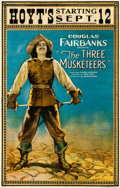 Movie Posters:Swashbuckler, The Three Musketeers (United Artists, 1921). Very Good on ...