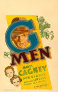 "Movie Posters:Crime, G-Men (First National, 1935). Fine- on Cardstock. Window Card (14"" X 22"").. ..."