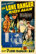 Movie Posters:Serial, The Lone Ranger Rides Again (Republic, 1939). Very Fine on...