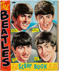Music Memorabilia:Memorabilia, The Beatles Vintage Scrap Book filled with Trading Cards, Color Post Cards and Official Fan Club Membership Cards (US, 1964)....