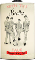 "Music Memorabilia:Memorabilia, The Beatles ""With the Beatles"" Bottle of Talc Powder (circa mid-1960s). . ..."