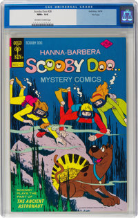Scooby Doo #28 File Copy (Gold Key, 1974) CGC NM+ 9.6 Off-white to white pages