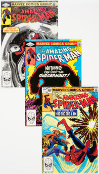 The Amazing Spider-Man Group of 29 (Marvel, 1981-84) Condition: Average NM-.... (Total: 29 )