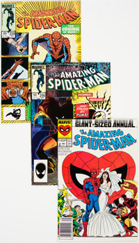 The Amazing Spider-Man Group of 26 (Marvel, 1982-87) Condition: Average NM-.... (Total: 26 )