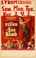 Movie Posters:Swashbuckler, The Sea Hawk (Warner Brothers, 1940). Very Fine-. ...