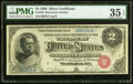 Large Size:Silver Certificates, Fr. 240 $2 1886 Silver Certificate PMG Choice Very Fine 35 EPQ.. ...