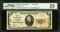 National Bank Notes:Wyoming, Lander, WY - $20 1929 Ty. 2 The First NB