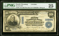 National Bank Notes:Wyoming, Powell, WY - $10 1902 Plain Back Fr. 628 The Fi...