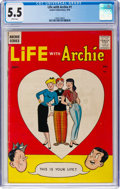 Silver Age (1956-1969):Humor, Life With Archie #1 (Archie, 1958) CGC FN- 5.5 White pages....