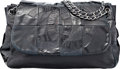 "Luxury Accessories:Bags, Chanel Black Patent & Lambskin Leather Messenger Bag. Condition: 4. 14"" Width x 10"" Height x 7"" Depth. ..."