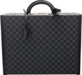 """Luxury Accessories:Bags, Louis Vuitton Damier Graphite Coated Canvas President Briefcase. Condition: 1. 18"""" Width x 14"""" Height x 4.5"""" Depth. ..."""