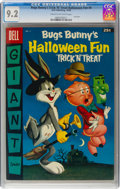Silver Age (1956-1969):Cartoon Character, Dell Giant Comics Bugs Bunny's Trick 'N' Treat Halloween F...