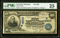 National Bank Notes:Nebraska, Crawford, NE - $10 1902 Date Back Fr. 616 The First NB Ch. # (W)6900 PMG Very Fine 25.. ...