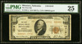 National Bank Notes:Nebraska, Minatare, NE - $10 1929 Ty. 2 The First NB Ch. # 13316 PMG Very Fine 25.. ...