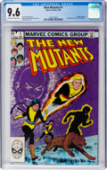 Modern Age (1980-Present):Superhero, The New Mutants #1 (Marvel, 1983) CGC NM+ 9.6 Off-white to whitepages....