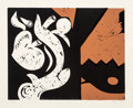 Prints & Multiples:Contemporary, Charlie Hewitt (b. 1946). Untitled-G. Woodblock in colors on wove paper. 20 x 24 inches (50.8 x 61 cm) (sheet). Ed. 3/10...