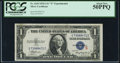 Small Size:Silver Certificates, Fr. 1610 $1 1935A S Silver Certificate. PCGS About New 50PPQ.. ...