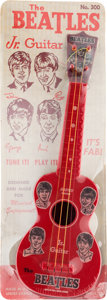 Music Memorabilia:Memorabilia, Beatles Jr. Vintage Toy Guitar by Mastro (NEMS, 1964). . ...