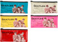 Music Memorabilia:Memorabilia, The Beatles Vintage Pencil Cases (5) (1964). . ...