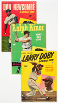 Golden Age (1938-1955):Miscellaneous, Golden Age Baseball-Related Comics Group (Fawcett, 1950) Condition: VG.... (Total: 4 )