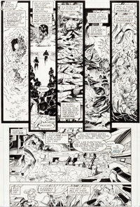 Jim Lee and Scott Williams X-Men #4 Story Page 1 Original Art (Marvel, 1992)