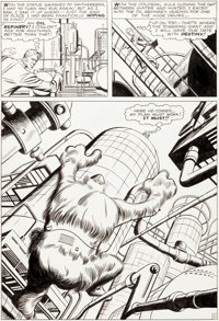 Jack Kirby and Dick Ayers Journey Into Mystery #66 Story Page 11 Hulk/Xemmu Original Art (Ma