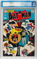 Silver Age (1956-1969):Superhero, Batman #213 (DC, 1969) CGC NM/MT 9.8 Off-white pages....