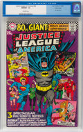 Silver Age (1956-1969):Superhero, Justice League of America #48 Pacific Coast Pedigree (DC, 1966) CGC NM/MT 9.8 Off-white pages....