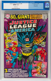 Justice League of America #48 Pacific Coast Pedigree (DC, 1966) CGC NM/MT 9.8 Off-white pages