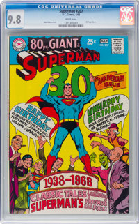 Superman #207 (DC, 1968) CGC NM/MT 9.8 White pages