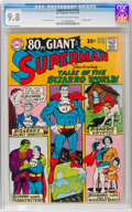Silver Age (1956-1969):Superhero, Superman #202 (DC, 1967) CGC NM/MT 9.8 Off-white to white pages....