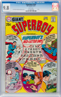 Bronze Age (1970-1979):Superhero, Superboy #165 (DC, 1970) CGC NM/MT 9.8 White pages....
