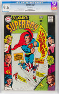 Silver Age (1956-1969):Superhero, Superboy #147 (DC, 1968) CGC NM+ 9.6 Off-white pages....