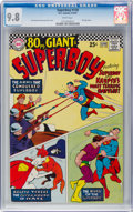 Silver Age (1956-1969):Superhero, Superboy #138 (DC, 1967) CGC NM/MT 9.8 White pages....