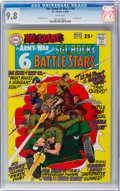 Silver Age (1956-1969):War, Our Army at War #190 (DC, 1968) CGC NM/MT 9.8 White pages....