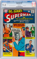 Silver Age (1956-1969):Superhero, Superman #197 (DC, 1967) CGC NM/MT 9.8 White pages....