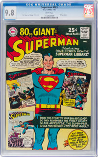 Superman #183 (DC, 1966) CGC NM/MT 9.8 White pages
