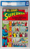 Silver Age (1956-1969):Superhero, Superman #193 Pacific Coast Pedigree (DC, 1967) CGC NM/MT 9.8Off-white to white pages....