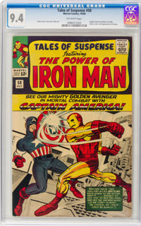 Tales of Suspense #58 (Marvel, 1964) CGC NM 9.4 Off-white pages