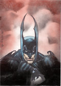 Original Comic Art:Paintings, Simon Bisley Batman Painting Original Art (2008)....