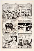 Original Comic Art:Panel Pages, Jack Kirby and Mike Royer The Dingbats of Danger Street Unpublished Second Story Page 9 Original Art (DC Comics, c...