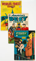 Golden Age (1938-1955):Miscellaneous, Golden Age Comics Group of 4 (Various Publishers, 1941-48).... (Total: 4 )